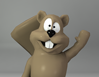 Beaver Re-topology & Rigging