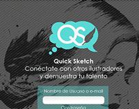 Quick Sketch - Interfaz
