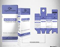 Queen Nadia : Novi Serum Packaging Design