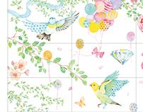Samantha Thavasa Graphics for stores