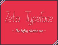 Zeta Typeface