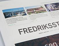 Newspaper redesign | Fredrikstad blad