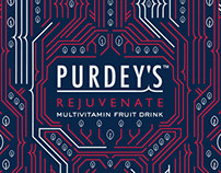 Nature's Circuit Board - D&AD Purdey's Repackaging