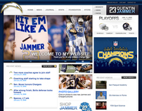 San Diego Charger Quentin Jammer