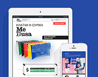 MeDusa Bags Landing Page