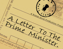 A letter to the Prime Minister...