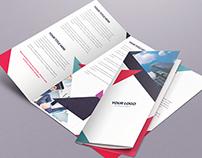 Geometric Brochure Tri-Fold