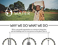 Charity Water Web Campaign