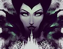 Maleficent Prints