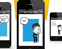 English Learn Mobile App Design