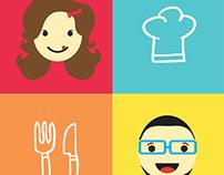 Casal Gourmet - Identidade Visual