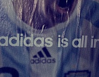 """adidas is all in"" Germany launch"