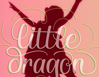 Little Dragon Lettering Fan Art
