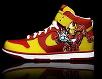 Nike - Colab. Marvel