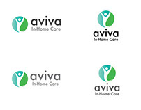 Aviva In-Home Care: Logo & Business Card Design