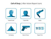 Call of Duty | After Action Report Icons