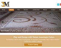 3M Marble Web theme Design