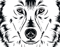 Black and White Vector Illustrations
