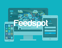Feedspot UI Design
