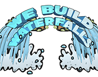 Webuildwaterfalls 3D Logo Animated