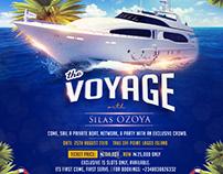 Yatch cruise Flyer design