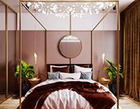 Bedroom in townhouse 2