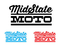 Mid State MOTO branding concepts