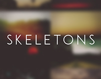 Skeletons (Lyric Video/Cover)