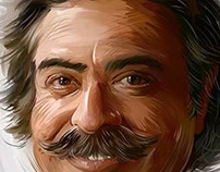 Realistic Caricature of The Owner of Fulham