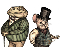 Mr Toad and Mr Mouse