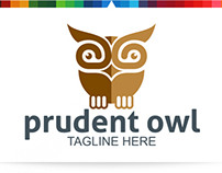Prudent Owl   Logo Template