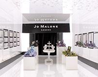 Jo Malone - Pop up store project