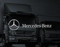 Mercedes-Benz [leaflets - truck range]