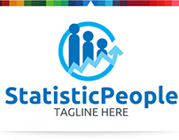 Stats People   Logo Template