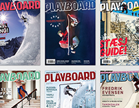 Playboard Magazine Features