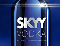 Skyy Vodka Concept Work