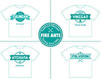 Fire Ants Concepts shirt prints