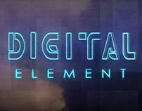 Digital Element Logo Animation