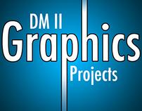 Digital Media II Graphics Projects