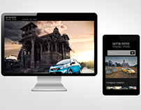 Photographer Website UI and UX Design