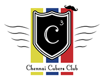 Logo for the Chennai Cubers Club ( C^3 )