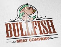 Bullfish Meat Company Logo