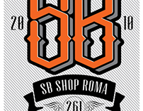 SB clothing store logo