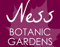 Ness Botanic Gardens iOS app