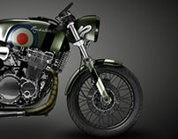 Rocketeer Cafe Racer