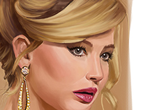 Digital painting | Jennifer Lawrence