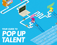 Pop Up Talent Poster