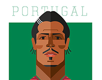 Portuguese national team illustrations