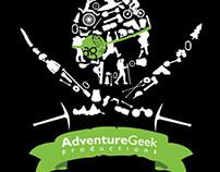 Adventure Geek pirate flag