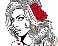 Portrait - Amy Winehouse